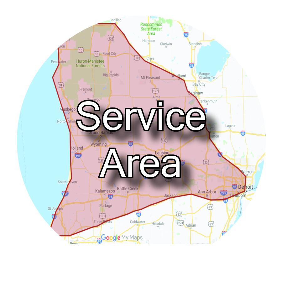 Uniform Rental Service Area
