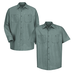 Solid Industrial Work Shirt